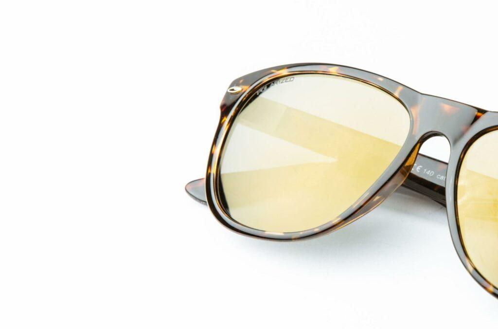 Montatura con lente polarizzata